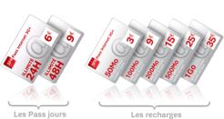 L'offre 3G sans abonnement d'SFR