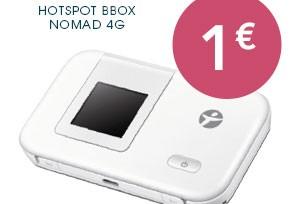 La clé 4G Bouygues Telecom à 1€ jusqu'au 16 novembre!