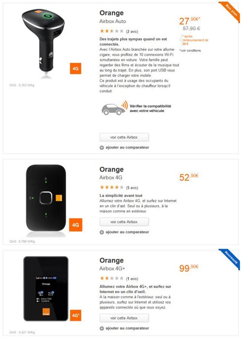 cl 3g orange 2go et 15go notre avis cl 3g. Black Bedroom Furniture Sets. Home Design Ideas