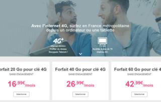 La clé 4G Bouygues à 9,90€ en septembre avec le forfait le moins cher du marché