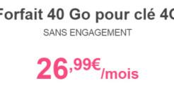 Le forfait 40 Go de Bouygues : la petite révolution des clés 3G